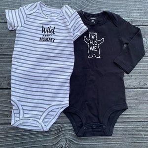 Baby Unisex Carter's Infant 2pc Bodysuit Set